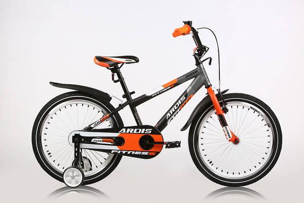 """Детский велосипед ARDIS FITNESS BMX 20""""  Черный/Оранжевый"""
