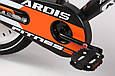"""Детский велосипед ARDIS FITNESS BMX 20"""" двухколесный с боковыми колесами, Черно-оранжевый, фото 6"""