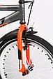 """Детский велосипед ARDIS FITNESS BMX 20"""" двухколесный с боковыми колесами, Черно-оранжевый, фото 8"""