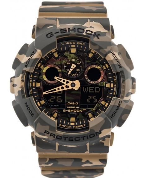 Часы Casio G-Shock GA-100CM-5A Camouflage В.