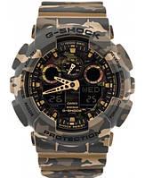 Часы Casio G-Shock GA-100CM-5A Camouflage В., фото 1