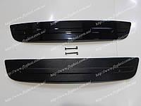 Зимняя накладка на решетку радиатора нижняя (матовая) Octavia A5 (2010-2014)