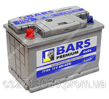 Автомобильный аккумулятор BARS Premium 77Ач 680А (0) R