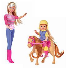 Лялька Steffi і Evi на коні Simba 57380512