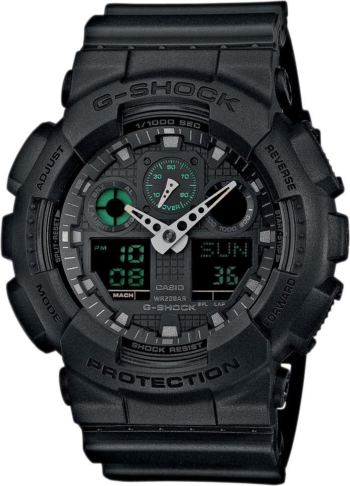 Часы Casio G-Shock GA-100MB-1A В.