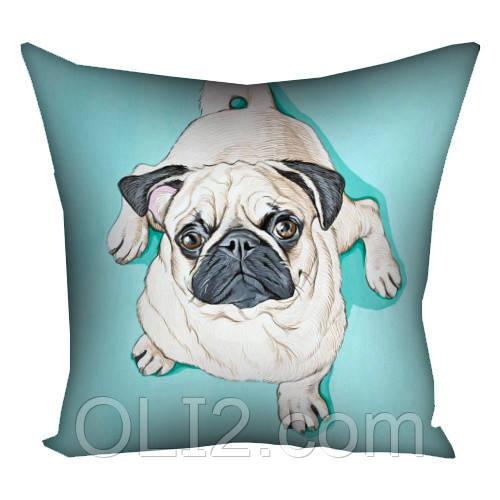 Подушка подушки на подарок мопс год собаки