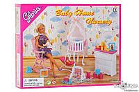 Мебель для кукол Детская комната игрушечная Gloria 9929