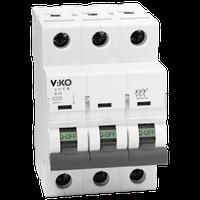 Автомат VIKO 3С (трехполюсный) 20А 4,5КА 230/400V Тип С