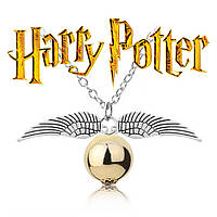 Кулон снитч из Гарри Поттера