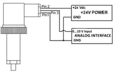 Подключение по 2-проводной схеме