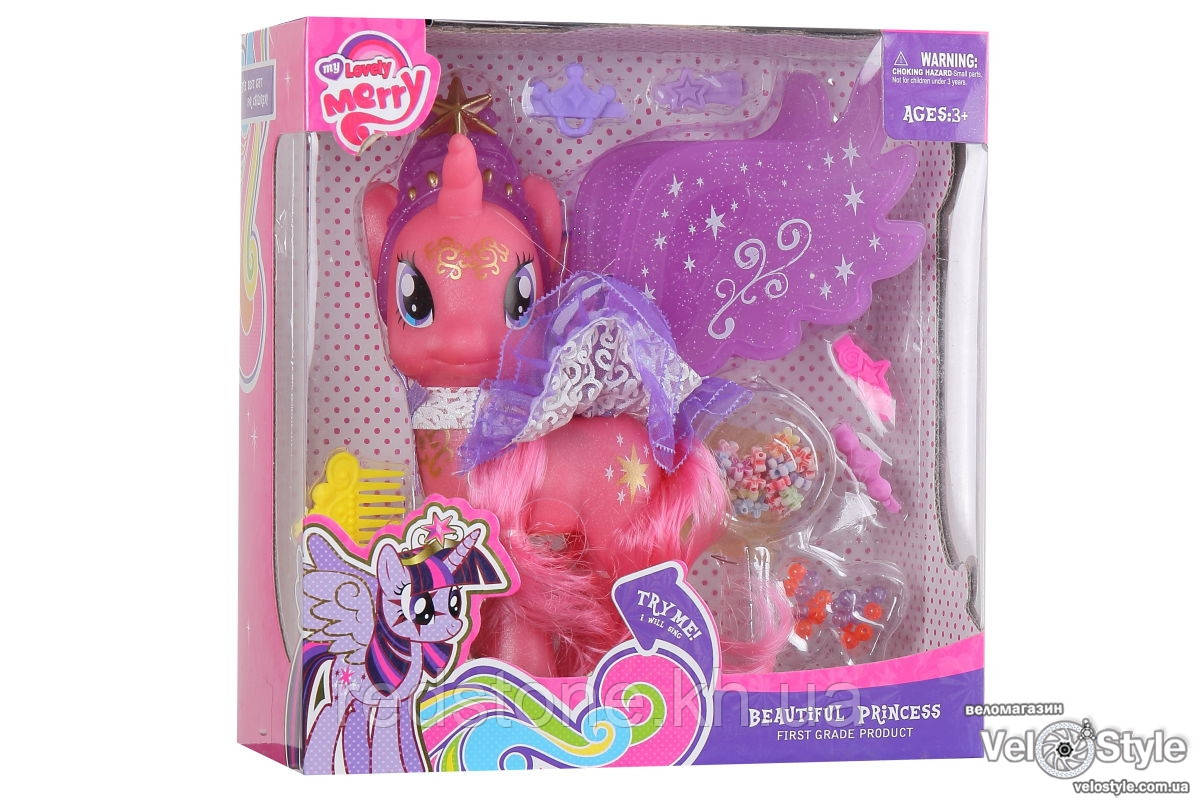 Лошадка Пони Единорог My Little Pony 88206 с аксессуарами