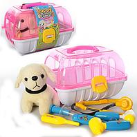 Игровой набор доктора в чемодане с собачкой