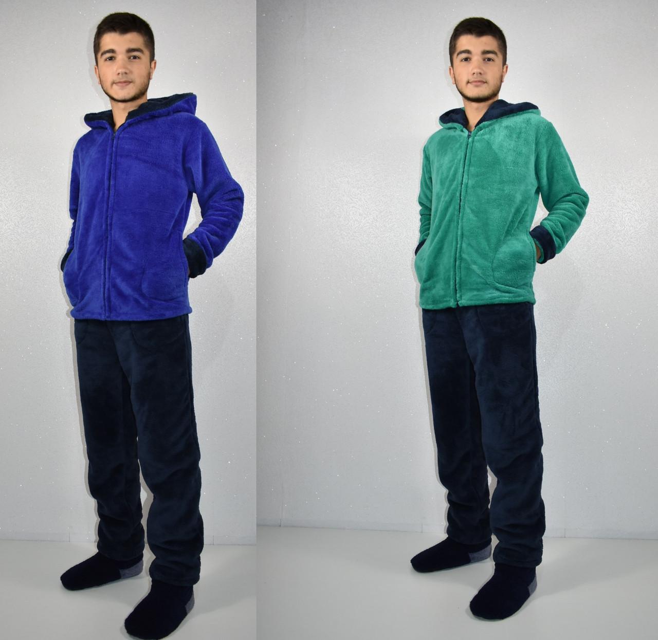 Мужской махровый костюм-пижама р-ры 44-50 6ab4dfd84b5d3