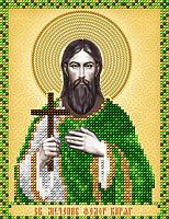 Схема на ткани для вышивания бисером Св. Мученик Федор Варяг