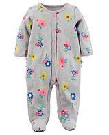 Человечек хлопковый Carters для девочки 3 месяца 55-61 см
