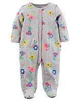Человечек хлопковый Carters для новорожденной девочки до 55 см