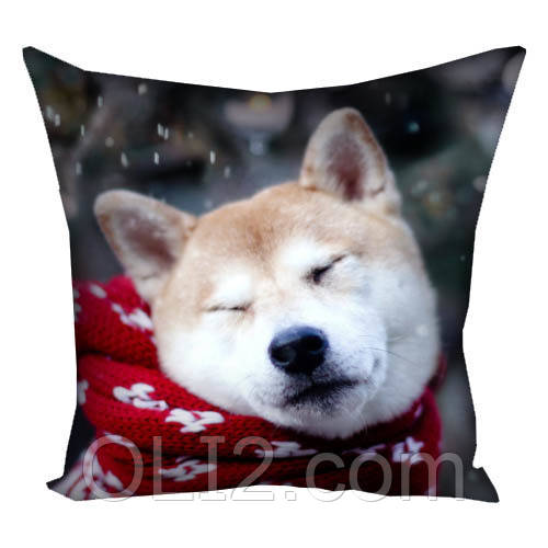 Подушка подушки на подарок пес год собаки 2018