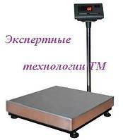 Весы электронные однодатчиковые ВЭСТ –  150, до 150 кг, платформа 400*600 мм индикатор Т7
