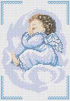 Схема для вышивки бисером «Спящий ангел»