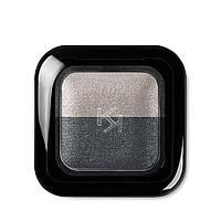 Тени для век Kiko Milano Bright Duo Baked Eyeshadow 23 Pearly Gray