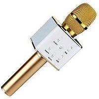 КАРАОКЕ Микрофон Q7 беспроводной с динамиком и USB входом BLUETOOTH Акция !!!