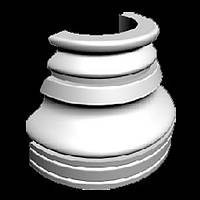Гипсовая база для колонн Я02