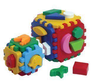 """Іграшка куб """"Розумний малюк 1+1"""" ТехноК"""""""
