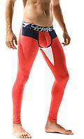 Кальсоны мужские с хлопка красного цвета Seobean. Артикул: ТВ18