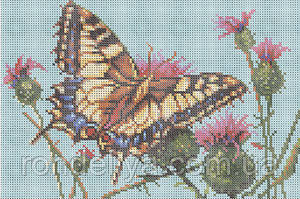 Схема для вышивки бисером «Бабочка»