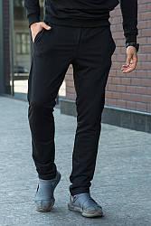 Штаны спортивные 1506 черный, XL