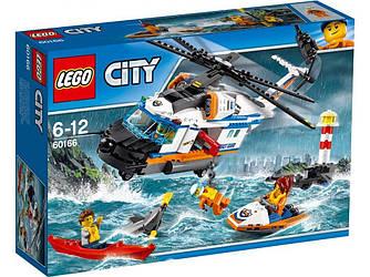 LEGO 60166 City  Сверхмощный спасательный вертолёт Лего Сіті Надпотужний рятувальний вертоліт
