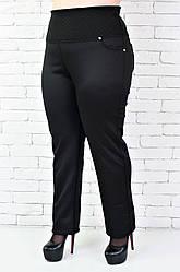 Брюки женские Супер батал (58-72 размер) 2, 72, черный