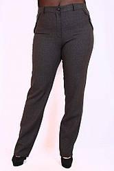 Брюки женские большого размера Лак флис, женские брюки большого размера