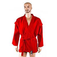 Самбовка куртка VELO (750мг, 150-190 см, красная)