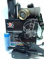 Налобный фонарь Bailong BL-6855 на аккумуляторе типа 18650