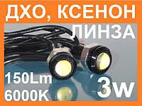 Светодиодная лампа Eagle eye с линзой 3W, врезная
