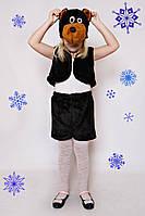 Детский Карнавальный меховой костюм Медведь, костюм мишки, костюмы новогодние, дропшиппинг  украина