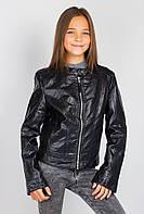 Куртка женская на молнии 659K001 junior (Черный)