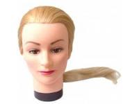 Болванка 50-55 см блондинка искусственные волосы YRE