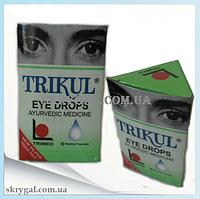 Глазные капли от катаракты и глаукомы.TRIKUL. Индия