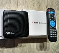 Smart TV приставка M8S pro 3/16 Gb DDR4
