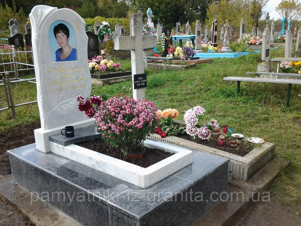 Пам'ятник у вигляді квітки № 12