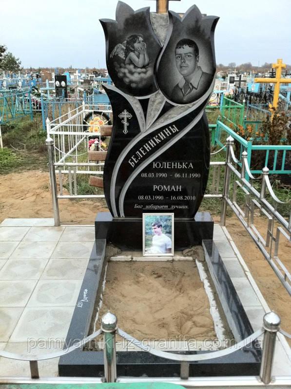Памятник в виде цветка № 22