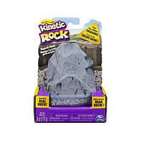 Kinetic Sand Rock Кинетический гравий для детского творчества 170 г (серый)
