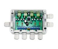 Комплект усилитель для передачи видеосигнала 4xTwist-10+