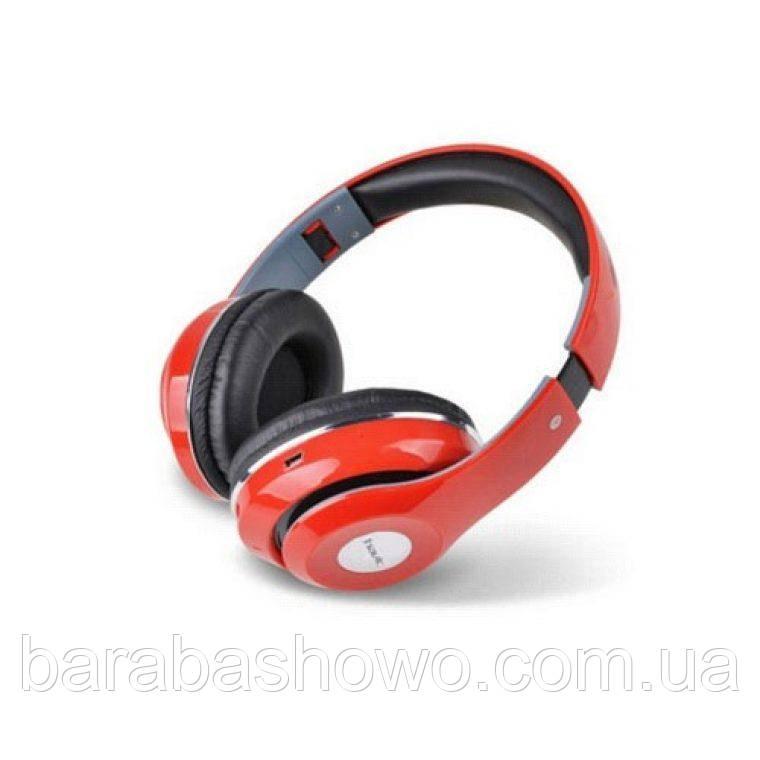 Беспроводные наушники  HAVIT HV-H2561BT, красные, с микрофоном