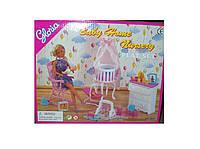 """Мебель """"Gloria"""" для детской,колыбель,люлька,комод,кресло-качалка,в кор. /36-3/"""
