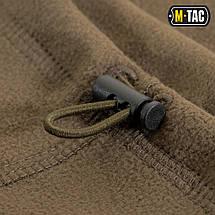 Шарф-труба Elite короткий с затяжкой флис (260г/м2) dark olive, фото 2