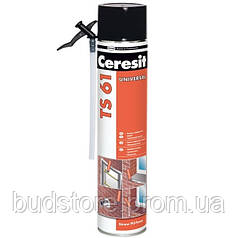 Пена монтажная TS61 STD 750 мл Ceresit
