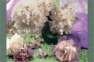 Схема для вышивки бисером «Пионы»
